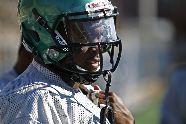 "North Texas senior linebacker Zach Orr, shown during Monday's practice in Dallas, is the team's leading tackler this season with 114, including 11 for losses. ""Last season, we were in positi ..."