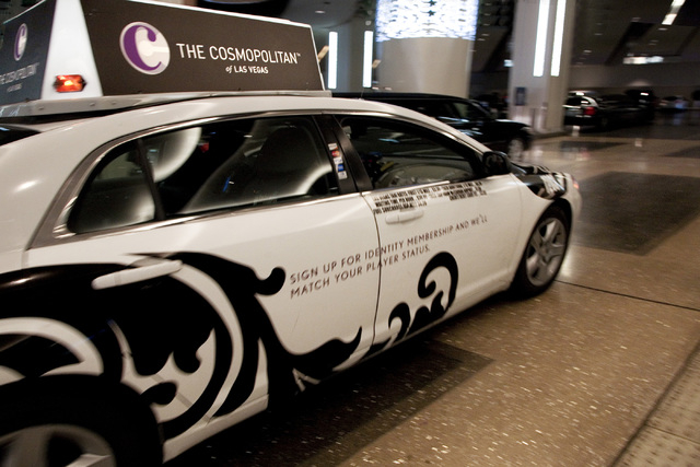 A bag with $300,000 in cash was left in taxicab that took a passenger from The Cosmopolitan to the Palms Place tower on Monday morning. A taxicab arrives at The Cosmopolitan Las Vegas hotel-casino ...