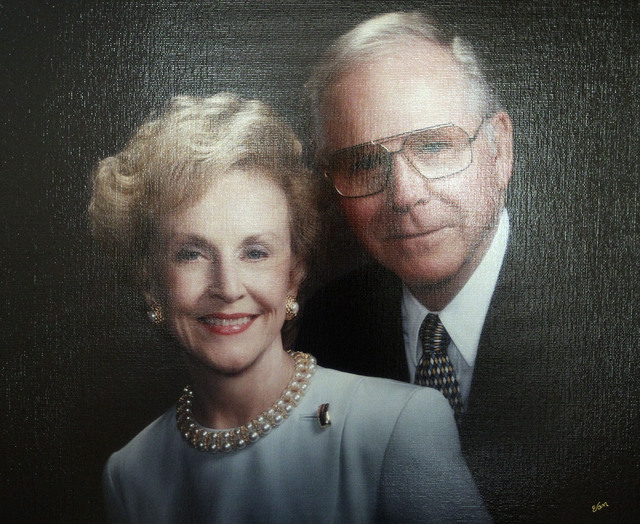 Robert Robinson, shown here with his wife, Betty, died July 31 at age 89. (Courtesy/Betty Robinson)