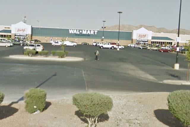 Walmart Supercenter at 4350 N. Nellis Blvd.