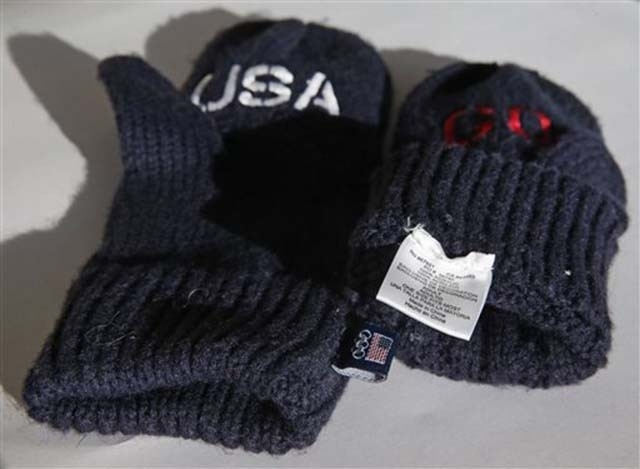 """The U.S. Olympic Committee is selling embroidered mittens as part of a fundraiser for winter athletes. The blue mittens are $14 a pair and have the word """"Go"""" embroidered on one mitten and """"USA"""" on ..."""