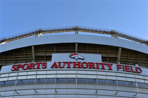Sports Authority Field at Mile High in Denver. (AP Photo/Jack Dempsey)
