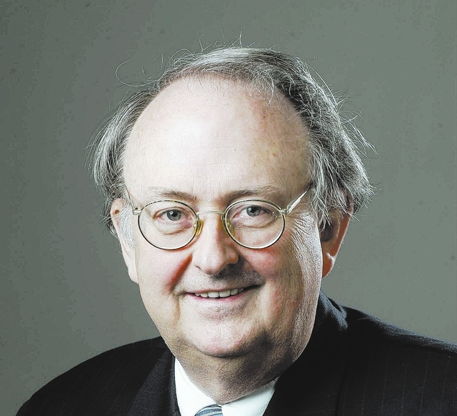 Judge Mark Denton, shown in this 2008 photo, received the highest retention rating of 93 percent among District Court civil and criminal judges in the Review-Journal's 2013 survey of judicial perf ...