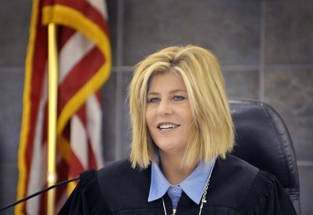 """Judge Janiece  Marshall landed on the """"do not retain"""" list in the 2013 survey of judicial performance. (BILL HUGHES/LAS VEGAS REVIEW-JOURNAL)"""