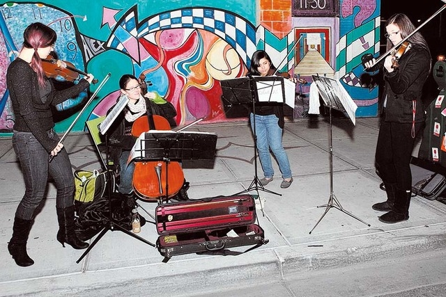 Music is part of the monthly First Friday arts event. (Courtesy)