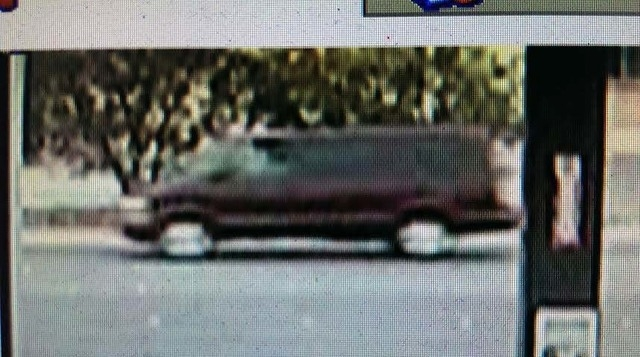 North Las Vegas police are searching for this van in connection with an attempted kidnapping near Von Tobel Middle School on Wednesday morning. (Courtesy, North Las Vegas Police Department)