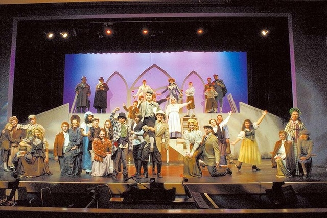 """Rainbow Company presents """"Scrooge"""" at the Charleston Heights Arts Center. (Courtesy)"""