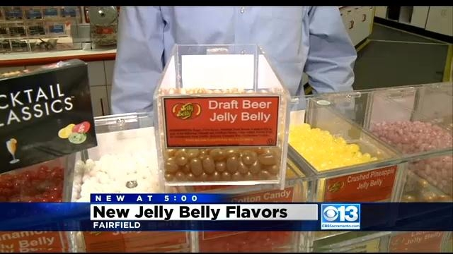 Jelly Belly introduces draft beer, chocolate-covered Tabasco jelly beans