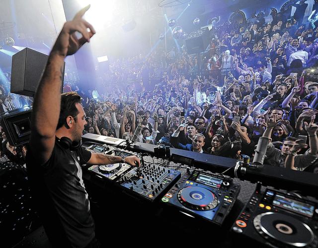 Sebastian Ingrosso returns to Light nightclub this weekend. (Courtesy, Denise Truscello/WireImage)