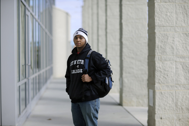 """Political science student La'Shon Callaway, 19, of Egg Harbor Township, N.J., is optimistic that racial discrimination will continue to decline over his lifetime. """"People are getting tired of it,  ..."""