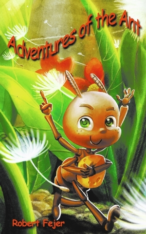 "Local author Robert Fejer presents ""Adventures of the Ant."""