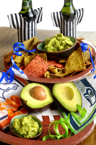 Guacamole is a favorite Super Bowl dip because it is easy to make, flavorful and versatile enough to appeal to any guest's tastes. (Jeferson Applegate/Las Vegas Review-Journal)