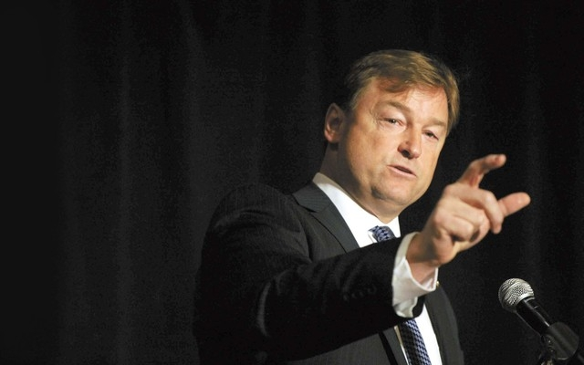 Sen. Dean Heller's proposed amendment to a flood insurance bill fell 49-50, two votes short of the 51 needed to pass. (Review-Journal File Photo)