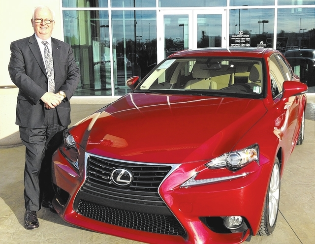 Courtesy photo Michael Kennedy, Lexus master certified sales and leasing consultant, works at Lexus of Henderson and caters to the Sun City Anthem.