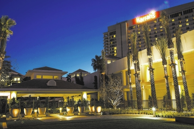 Harrah's Rincon in northern San Diego County with the Rincon Band of Luiseno Indians has 662 hotel rooms and a 55,000-square-foot casino. (Courtesy Caesars Entertainment Corp.)