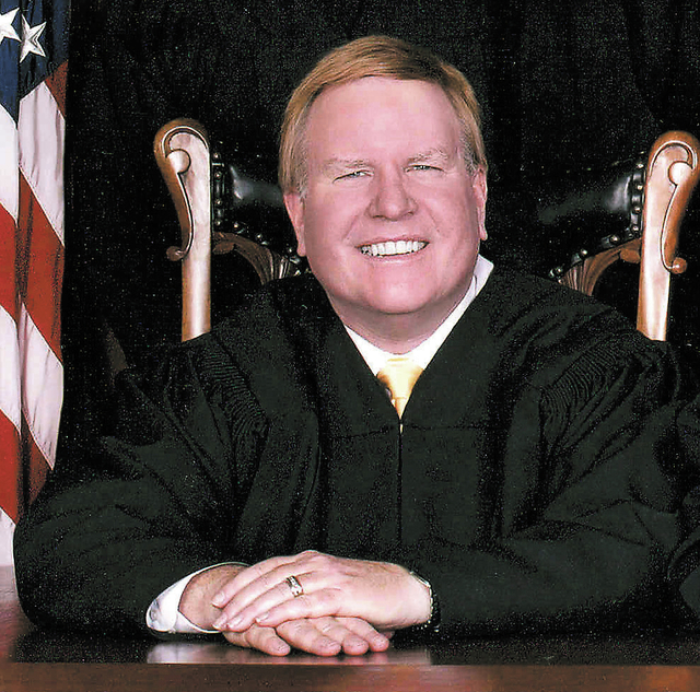 HAND OUT PHOTO Nevada Supreme Court Justice Mark Gibbons in undated photo. He was elected to the Nevada Supreme Court in 2002 and assumed the bench in January 2003. He served as Chief Justice in 2008.
