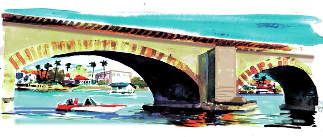 Lake Havasu City's London Bridge ranks as one of Arizona top attractions. (Mike Miller/Special to Las Vegas Review-Journal)