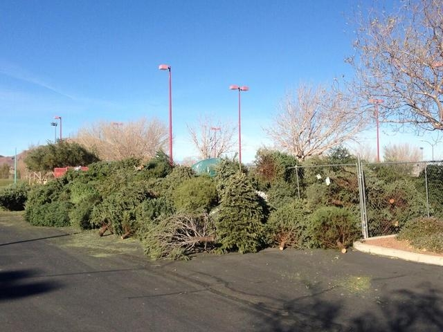 The city of Henderson is encouraging residents to recycle their holiday trees. Trees can be dropped off through Jan. 17 at Acacia Park, 50 Casa Del Fuego St.; Anthem Hills Park, 2256 N. Reunion Dr ...