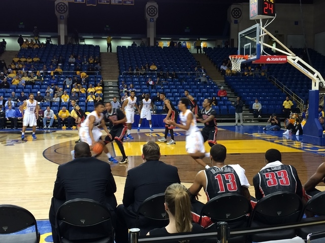 UNLV takes on San Jose State on Wednesday night at The Event Center. (Courtesy Marco Benvenuti)