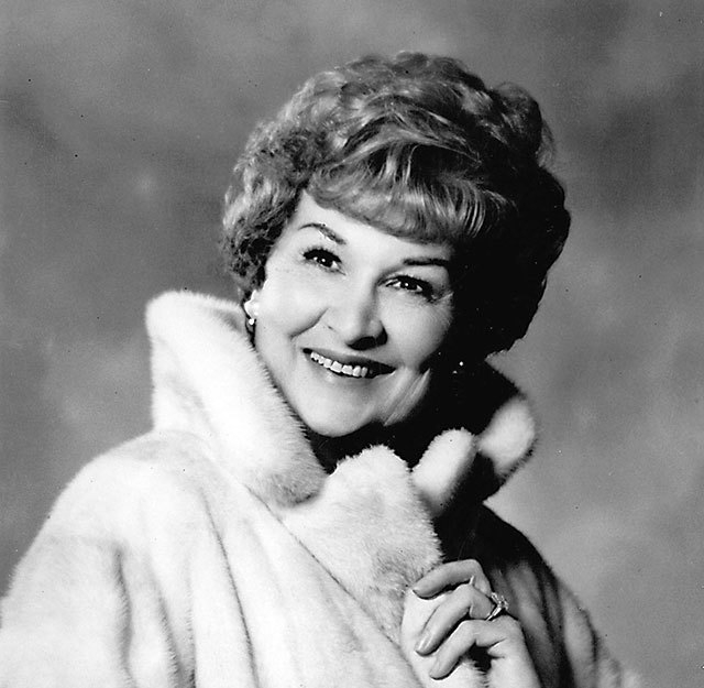 Judy Bayley, who died in 1971, was a philanthropist and hotel owner. A theater on the University of Nevada, Las Vegas campus bears her name. (Courtesy)