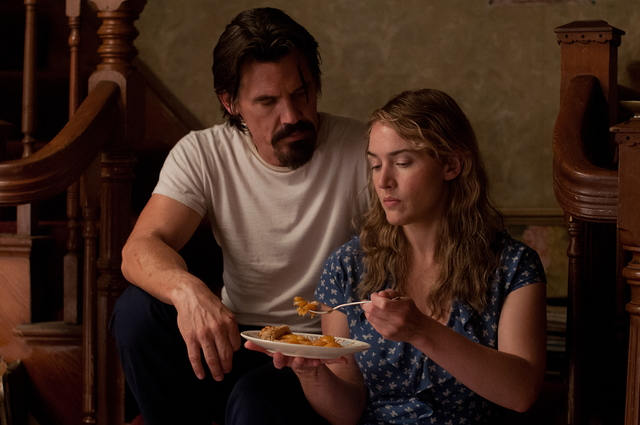 """Josh Brolin, left, is Frank and Kate Winslet is Adele in """"Labor Day."""" (Dale Robinette/Paramount)"""