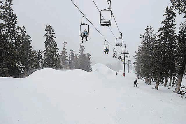 Las Vegas Ski & Snowboard Resort is located in Lee Canyon on Mount Charleston. (Courtesy/Las Vegas Ski & Snowboard Resort)