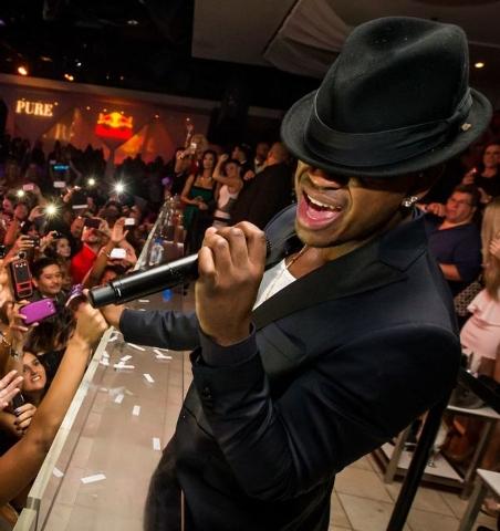 Ne-Yo sings at Pure nightclub. (Courtesy, Erik Kabik/Retna.c)