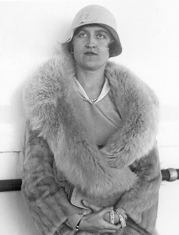 Mrs. Huguette Clark Gower, daughter of the late Senator William A. Clark of Montana, copper magnate, who was granted a divorce from William MacDonald Gower in Reno, Nevada Aug. 11, 1930, on ground ...