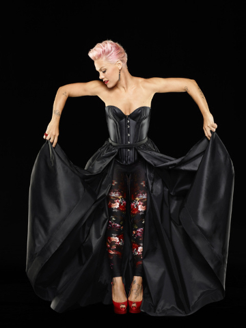 Pink will be performing at 8 p.m. Friday at the MGM Grand Garden arena. (Courtesy photo)