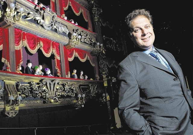 Base Entertainment founder Scott Zeiger will head a new division of Cirque du Soleil aimed at creating titles for Broadway, London's West End and theatrical touring. (Review-Journal File Photo)