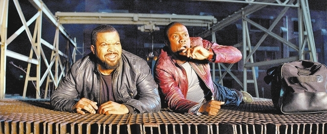"Ice Cube, left, and Kevin Hart lead the lineup in ""Ride Along,"" the new film from the director and the producer of the blockbuster comedy ""Think Like a Man."" When a fast-talking guy joins his girl ..."