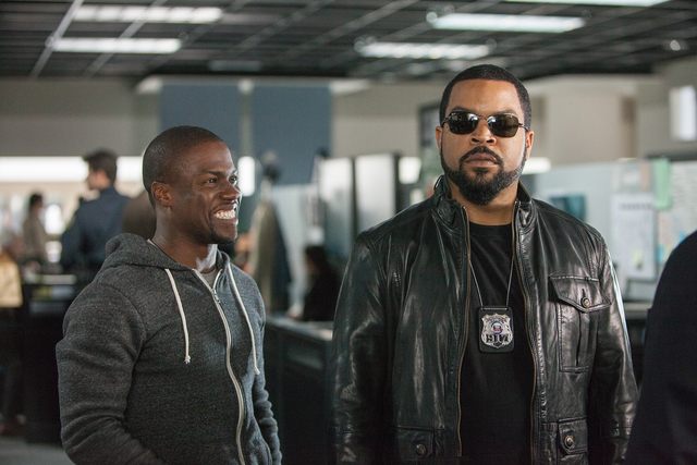 "Kevin Hart, left, and Ice Cube lead the lineup in ""Ride Along,"" the new film from the director and the producer of the blockbuster comedy ""Think Like a Man."" When a fast-talking guy joins his girl ..."