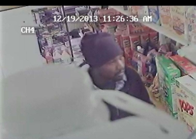 North Las Vegas police are looking for a man who they say robbed a convenience store last month on North Main Street near Owens Avenue. (Courtesy, North Las Vegas Police Department)