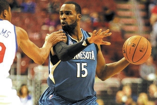 Minnesota Timberwolves' Shabazz Muhammad plays against the Philadelphia 76ers during a preseason NBA basketball game, Wednesday, Oct. 23, 2013, in Philadelphia. (AP Photo/Laurence Kesterson)