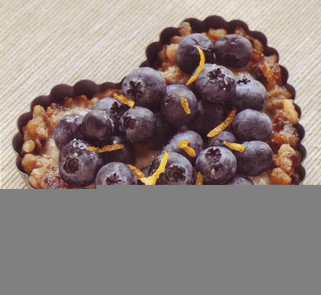 Raw Blueberry Cream Tart
