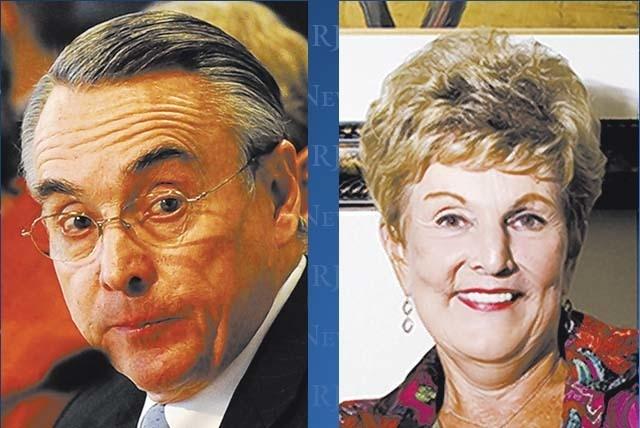 Don Snyder and Carol Harter
