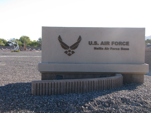 Nellis Air Force Base (F. Andrew Taylor/View, file)