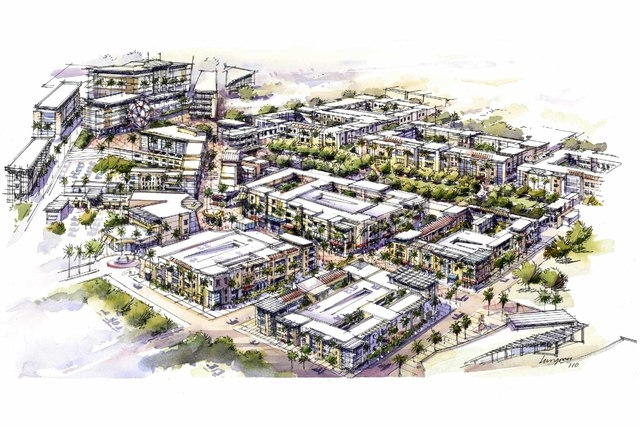 Urban Village, a $1.6 billion, 228-acre mixed-used healthcare complex, is being planned at Galleria Drive and U.S. Highway 95 in Henderson. A land deal for project was completed this week when the ...