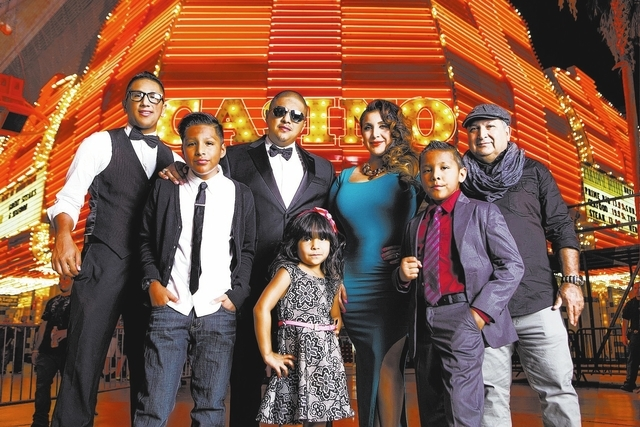 """In this promotional photo, you can see how the Vegas family of former boxing champ Fernando Vargas are being marketed for the upcoming TV show, """"Los Vargas."""" Courtesy."""