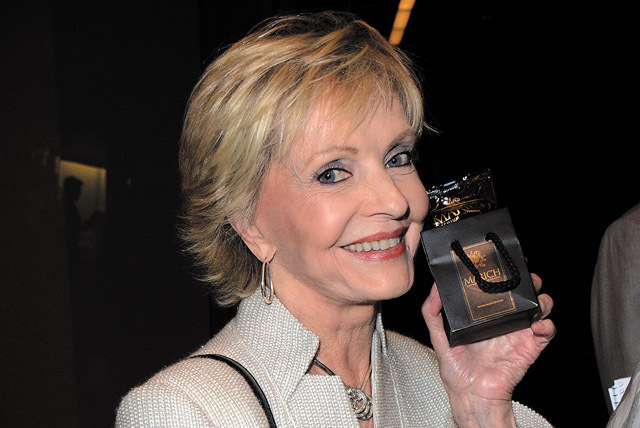 """Florence Henderson is the Nevada Ballet Theatre's """"Woman of the Year"""" honoree at Saturday's Black and White Ball at the Aria. (Tonya Wise/Invision for Academy of Television Arts & Sciences ..."""
