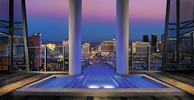 The Palms Two Story Sky Villa Is Most Expensive Hotel Room In Nevada And