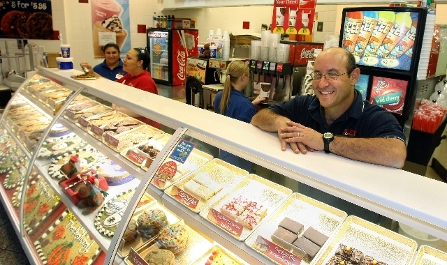 Michael Solomon, owner of several Capriotti's franchises in Las Vegas and Los Angeles, said many businesses are ready for new federal insurance rules that are part of the Affordable Care Act, an ...