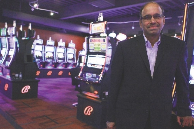 Ramesh Srinivasan is the chief executive officer of slot machine maker Bally Technologies. (Las Vegas Review-Journal file)