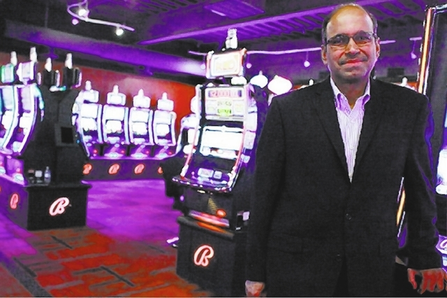 Ramesh Srinivasan is chief executive officer of slot machine maker Bally Technologies. (Las Vegas Review-Journal file)