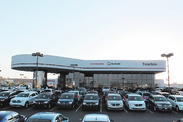 Towbin Dodge Superstore was named No.1 in sales for the first time by Chrysler Corp. The title is based on number of Dodge units sold throughout 2013, and does not include any RAM truck sales. In  ...