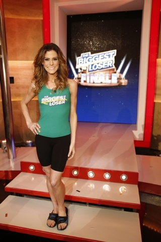 "Rachel Frederickson was the winner on the finale of ""The Biggest Loser"" on Tuesday in Los Angeles. Fredrickson lost nearly 60 percent of her body weight and pocketed $250,000.  (AP Photo/NBC, Trae ..."