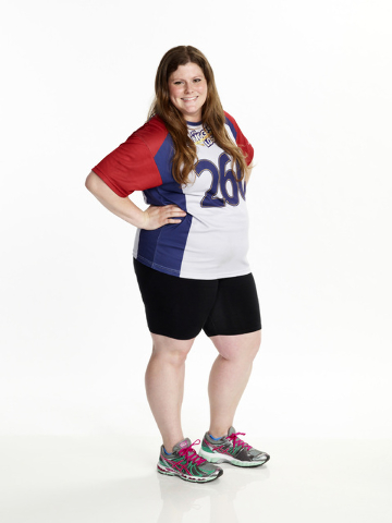 "Rachel Frederickson was a contestant on ""The Biggest Loser."" She lost nearly 60 percent of her body weight to win the latest season and pocket $250,000. (AP Photo/NBC, Paul Drinkwater)"