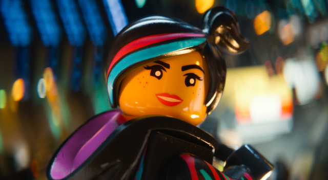 "This image released by Warner Bros. Pictures shows the character Wyldstyle, voiced by Elizabeth Banks, in a scene from ""The Lego Movie."" (AP Photo/Warner Bros. Pictures)"