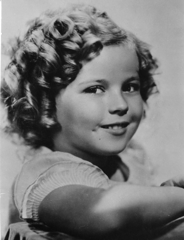 Eight-year-old Shirley Temple is pictured in 1936. (AP Photo/File)