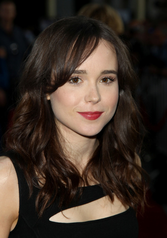 """Ellen Page arrives at the LA premiere of Fox Searchlight Pictures' """"The East"""" presented by Piaget in this May 28, 2013 file photo taken in Los Angeles. Page, the adorable, quirky actress who encha ..."""